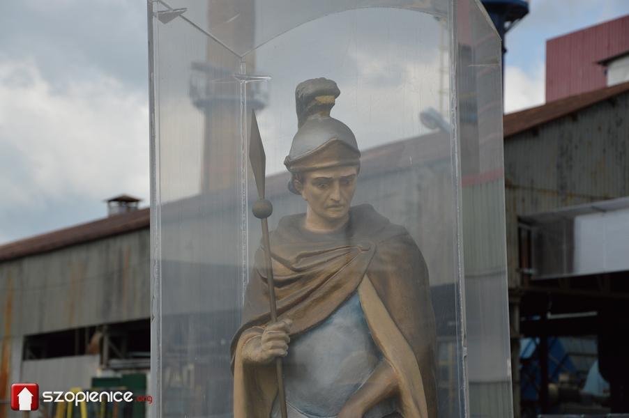 Święty Florian czuwający nad Baterpolem