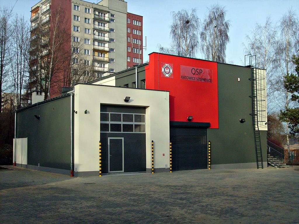 Nowa strażnica OSP Katowice Szopienice