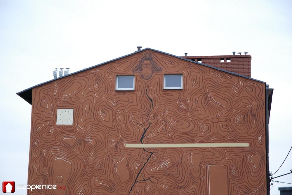 Odsłonięcie muralu przy ul. Obrońców Westerplatte [ZDJĘCIA]