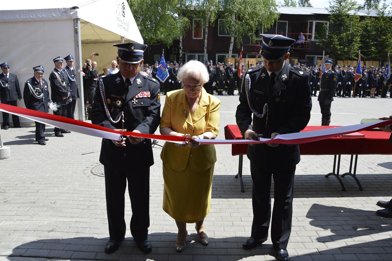 Otwarcie strażnicy OSP Katowice Szopienice