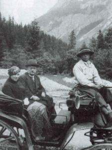 Karol Hoppe z żoną Marią, Zakopane 1934. Zdjęcie ze zbiorów Ireny Brol