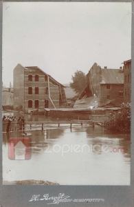 Katastrofa w Roździeniu na fotografii Heinricha Berndta.