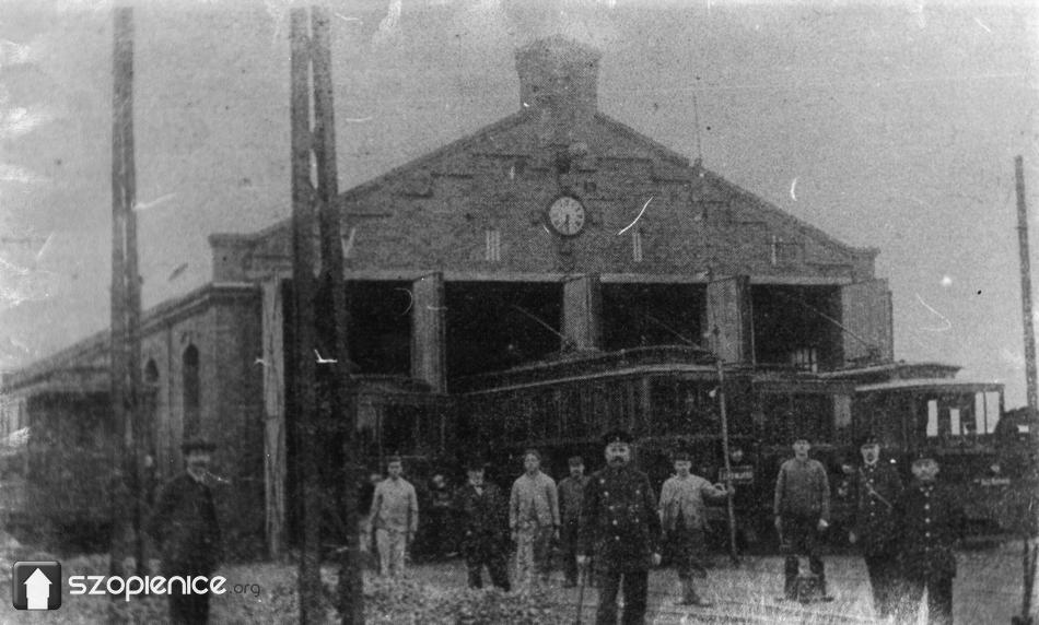 Zajezdnia w Szopienicach - 1910 rok