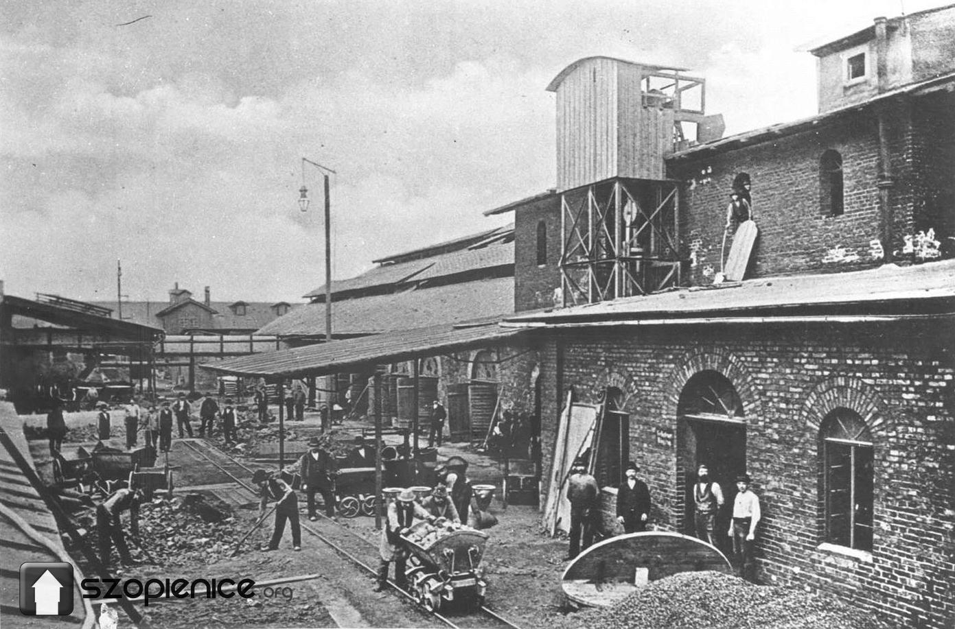 Huta Walter Croneck pod koniec XIX wieku